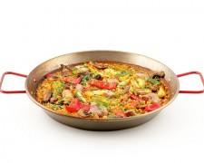 Paella Campera (ciega de verduras y carne)
