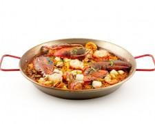 Paella de Bogavante y Mariscos