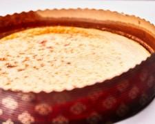 Tarta de queso casera La Viña